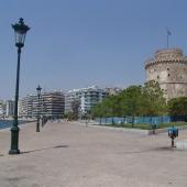 Ο χώρος του Λευκού Πύργου επί των ημερών της ανάπλασης επί δημαρχίας Παπαγεωργόπουλου © goTHESS.gr