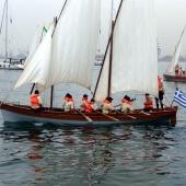 Από τις εκδηλώσεις για τα 100 χρόνια ελεύθερης Θεσσαλονίκης - βάρκα στο Θερμαικό © goTHESS.gr