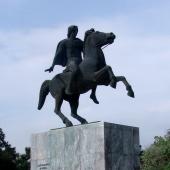 Αγαλμα Μεγάλου Αλεξάνδρου © goTHESS.gr